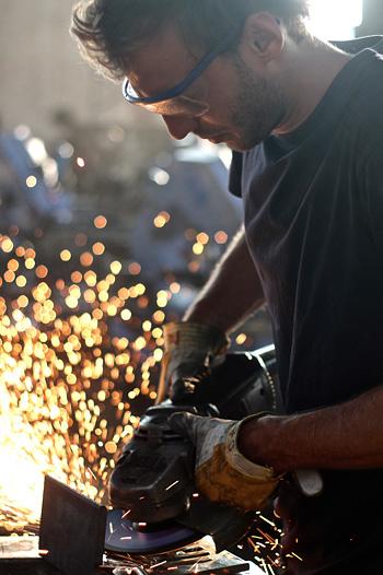 Mingardo oggetti metallo design fatti a mano